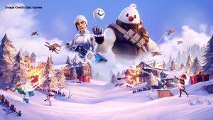 מבצע Snowdown - פורטנייט מכסה את המשחק בשלג